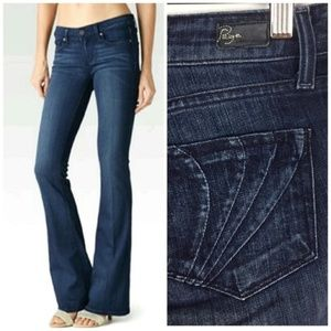 Paige Laurel Canyon Whiskered Bootcut Jean